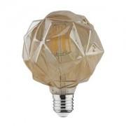 Bec decorativ LED COG 4W rustic Crystal-4 E27 HOROZ