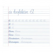 Deltas Mijn oefenschrift - schrijven (7 - 8 jaar)