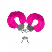 Neon Luv Touch Manette Neon Luv Touch Neon Furry Cuffs Pink