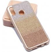 Teleplus Huaweı P20 Lite Matte Laser Silicone Case Gold hoesje