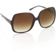 United Colors of Benetton Over-sized Sunglasses(Brown)