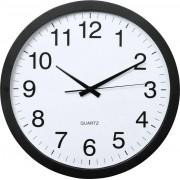 Ceas de perete cuarţ, negru, Hama PG-400 Jumbo