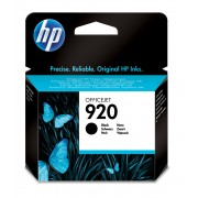 HP 920 Black Officejet Ink Cartridge Use in selected Officejet Pro printers