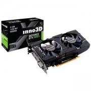 Видео карта Inno3D GeForce GTX 1050 Ti Twin X2, NVIDIA GameStream, Dual Link DVI-D, HDMI 2.0b, DisplayPort 1.4, N105T-1DDV-M5CM