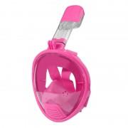 Équipement de plongée pour enfants Full Face Design Masque de plongée pour GoPro HERO4 / 3 + / 3/2/1 (Rose)