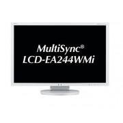 "NEC MultiSync EA244WMi 24"""" IPS Blanco pantalla para PC"