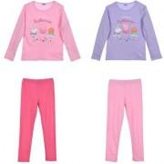 Peppa Pig Greta Gris Pyjamas set (ROSA, 4 ÅR - 104 CM)
