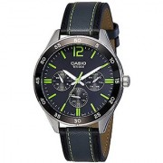 Casio Enticer Analog Black Dial Mens Watch-MTP-E310L-1A3VDF (A1180)