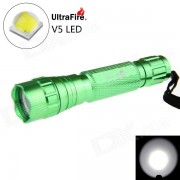 De Ultrafire 501B XP-L V5 LED 5-Mode 1200lm linterna blanca (1 * 18650)