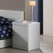 Nachtkommode in Weiß lackiert online kaufen