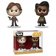 Vynl. Figuras Funko Vynl. Han Solo y Lando Calrissian - Han Solo: Una historia de Star Wars