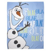 Frozen fleece deken Olaf