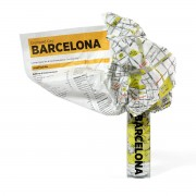 Palomar - Crumpled City Map - Barcelona