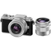 PANASONIC Hybride camera Lumix DMC-GF7 + 12-32 mm + 35-100 mm + Tas + SD-kaart