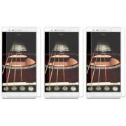 Deltakart Tempered Glass Screen Guard For Lenovo K5 Note - Pack Of 3