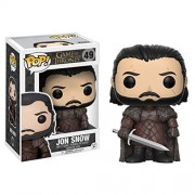 Funko POP Game of Thrones Jon Snow Pop! Vinyl Action Figure - Merchandise & Accessories (New Edition)