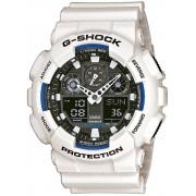 Ceas barbatesc Casio GA-100B-7AER G-SCHOCK Cronograf 20 ATM 51 mm