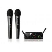 Microfon fara fir AKG WMS 40 Mini2 Vocal Set Dual JP1/2