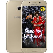 Samsung Galaxy A5 2017 - Inclusief Rode Duivels Cover - Goud