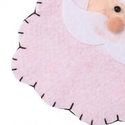 ELECTROPRIME® Cute Christmas Tableware Holder Cutlery Bag Santa Claus Xmas Home Ornament