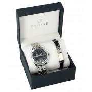 SKYLINE pánská dárková sada hodinky s náramkem 2850-5