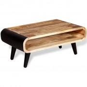 vidaXL Masă de cafea, lemn masiv de mango, 90 x 55 x 39 cm