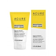 Acure Brightening Night Cream, 1.7 Fl. Oz. (Packaging May Vary)