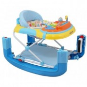 Premergator si Balansoar First Steps Happy Baby - Enjoy Blue