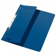 Dosar incopciat 1/2 Leitz, carton, albastru