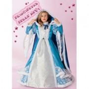 Costume Principessa delle Nevi tg. 7/8 anni