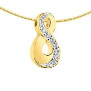 Ashanger infinity met 11 diamantjes