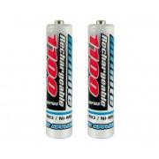 2 buc Baterii reîncărcabile NiMH AAA 1100 mAh 1,2V