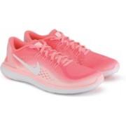 Nike WMNS NIKE FLEX 2017 RN Running Shoes For Women(White, Pink)