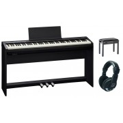 Roland Piano Digital FP-30 BK Home Bundle