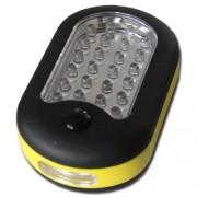 LED svítilna 24 plus 3LED s háčkem a magnetem