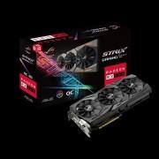 VC, ASUS ROG-STRIX-RX580-O8G-GAMING, 8GB GDDR5, 256bit, PCI-E 3.0