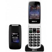 Maxcom MM824 kártyafüggetlen mobiltelefon, extra nagy gombokkal, vészhívóval fekete