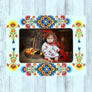 Rama foto lemn motiv traditional 7481
