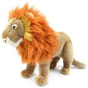 Leif the Lion | 17 Inch (Without Tail!) Stuffed Animal Plush | By Tiger Tale Toys