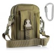 FKU Tactical Molle Pouch Universal Outdoor Sport Utility Belt Waist Bag(Brown)