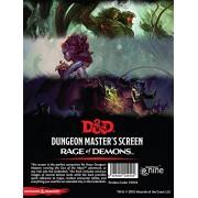 Dungeons Dragons Rage of Demons Dungeon Master s Screen GF9 73704