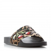 Steve Madden Patches SM Patch Work Sliders