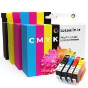 Totaalinkt Geschikt HP Photosmart C5300 inkt cartridge Multi-color 4-pack van Totaalinkt