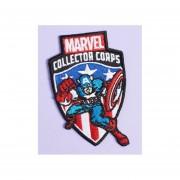 Funko Pop Parche Captain America Capitan Marvel Collector Corps