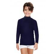 Bluza E. Coveri, maneca lunga albastru 1112