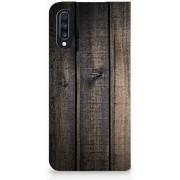 Samsung Galaxy A70 Book Wallet Case Steigerhout