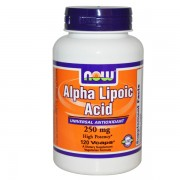 Alpha Lipoic Acid 250mg - 120 vcaps