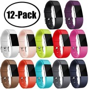 GEAK for Fitbit Charge 2 Bands Small 12-Pack