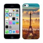 Husa iPhone 5C Silicon Gel Tpu Model Paris