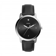 Часовник FOSSIL - The Minimalist 3H FS5497 Black/Silver